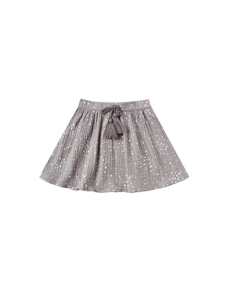 Rylee & Cru Moondust Mini Skirt Periwinkle