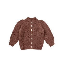 Rylee & Cru Tulip Sweater Wine 3/6M-2/3T