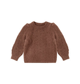 Rylee & Cru Balloon Sweater Wine 2/3T-12/14