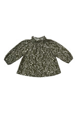 Rylee & Cru Vines Audrey Blouse Forest