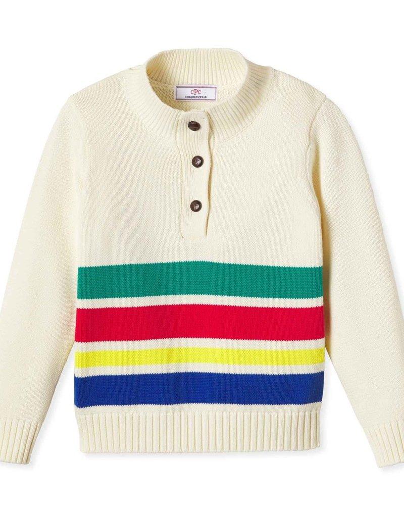 Classic Prep Scott Sweater Adirondack Stripe 18/24M-10