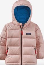 Patagonia Hi-Loft Down Sweater Hoody Seafan Pink 12/18M-4T