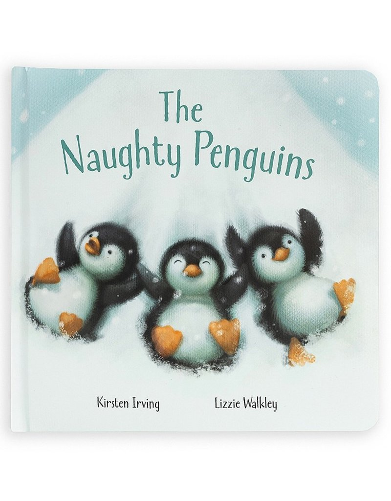 Jellycat The Naughty Penguins Book