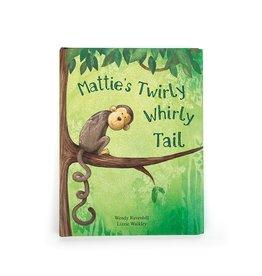 Jellycat Mattie's Twirly Whirly Tail Book