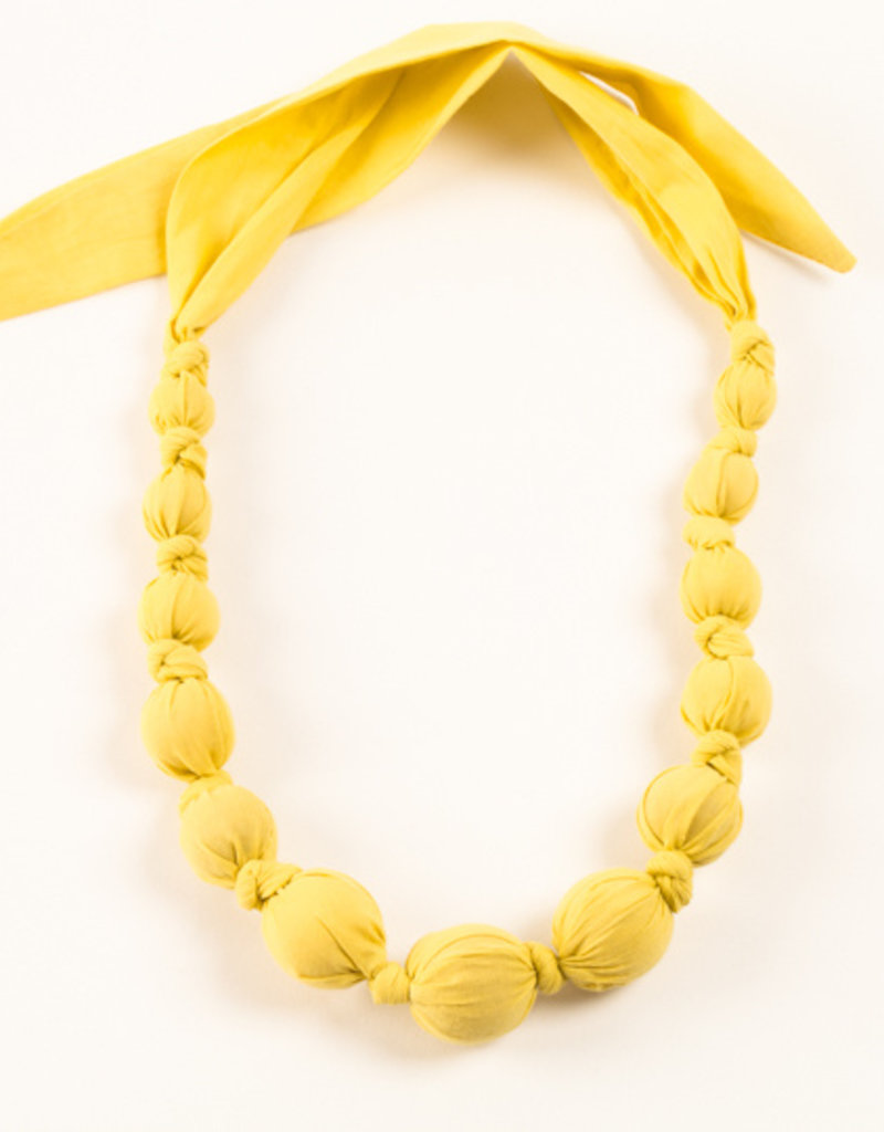 Peppercorn Kids Solid Yellow Necklace