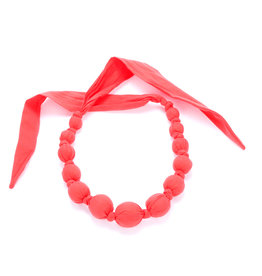 Peppercorn Kids Solid Red Necklace