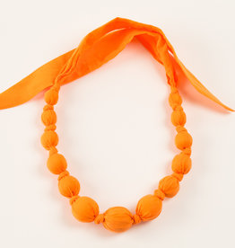Peppercorn Kids Solid Orange Necklace