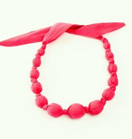 Peppercorn Kids Solid Raspberry Necklace