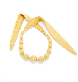 Peppercorn Kids Solid Mustard Necklace