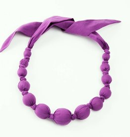 Peppercorn Kids Solid Dark Violet Necklace