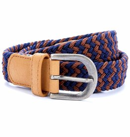 Peppercorn Kids Boys Zig Zag Stretch Cord Belt  S, M