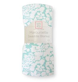 SwaddleDesigns Marquisette Swaddle Lush SeaCrystal
