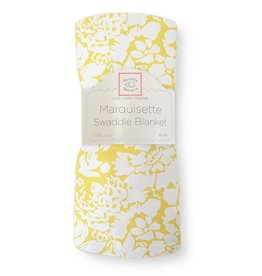 SwaddleDesigns Marquisette Swaddle Lush Yellow