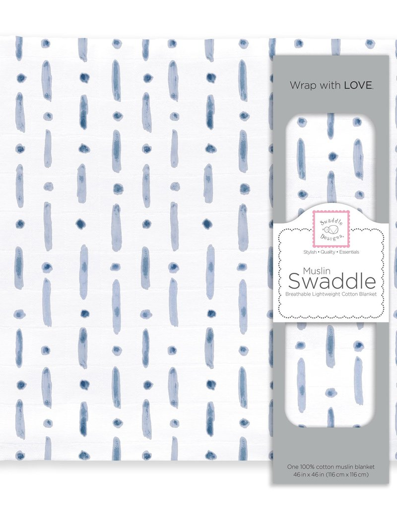 SwaddleDesigns Muslin Swaddle Watercolor i Exclaim!