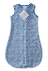 SwaddleDesigns Cozy zzZipMe Sack Puff Circle Blue