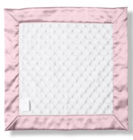 SwaddleDesigns Baby Lovie Plush Dots Pastel Pink