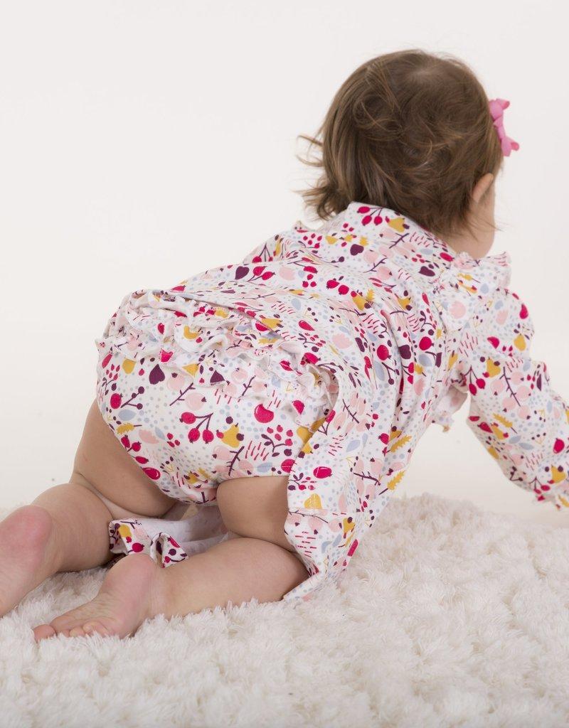 Magnetic Me Pom Pom Dress w/Diaper Cover 0/3M-9/12M