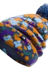 North Face Ski Tuke Navy Wildflower Print