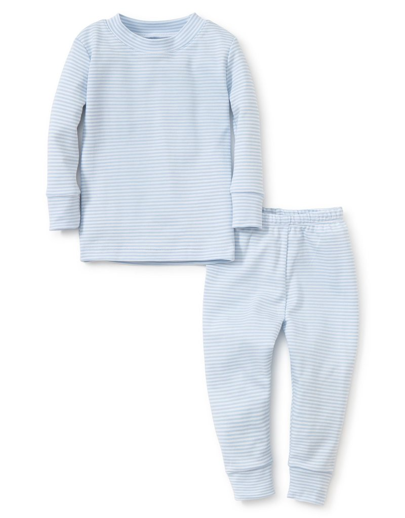 Kissy Kissy Pj's Year Round Set Blue Stripes 2T-6