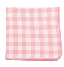Angel Dear Gingham Blanket Pink