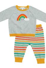 Angel Dear Vintage Sweater Set Rainbow