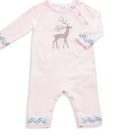 Angel Dear Western Wilderness Deer Coverall Pink