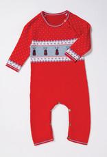 Angel Dear Reindeer Knit Coverall 0/6M-6/12M