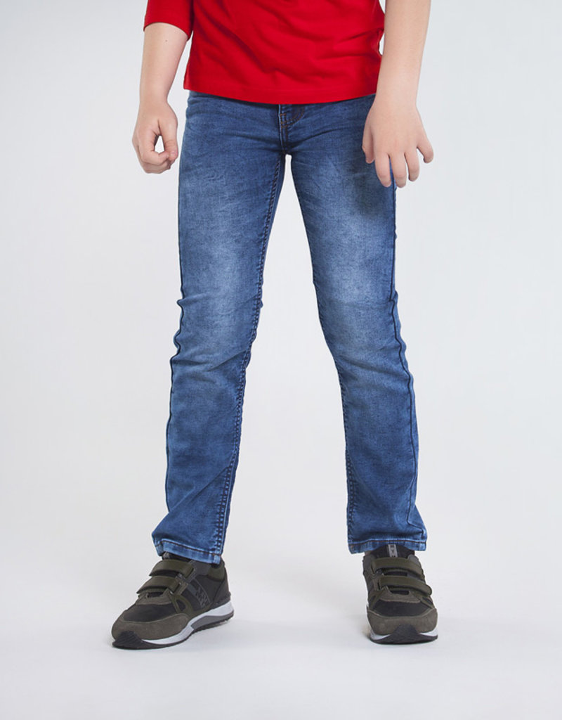 Mayoral Regular Fit Denim Pants Dark 10