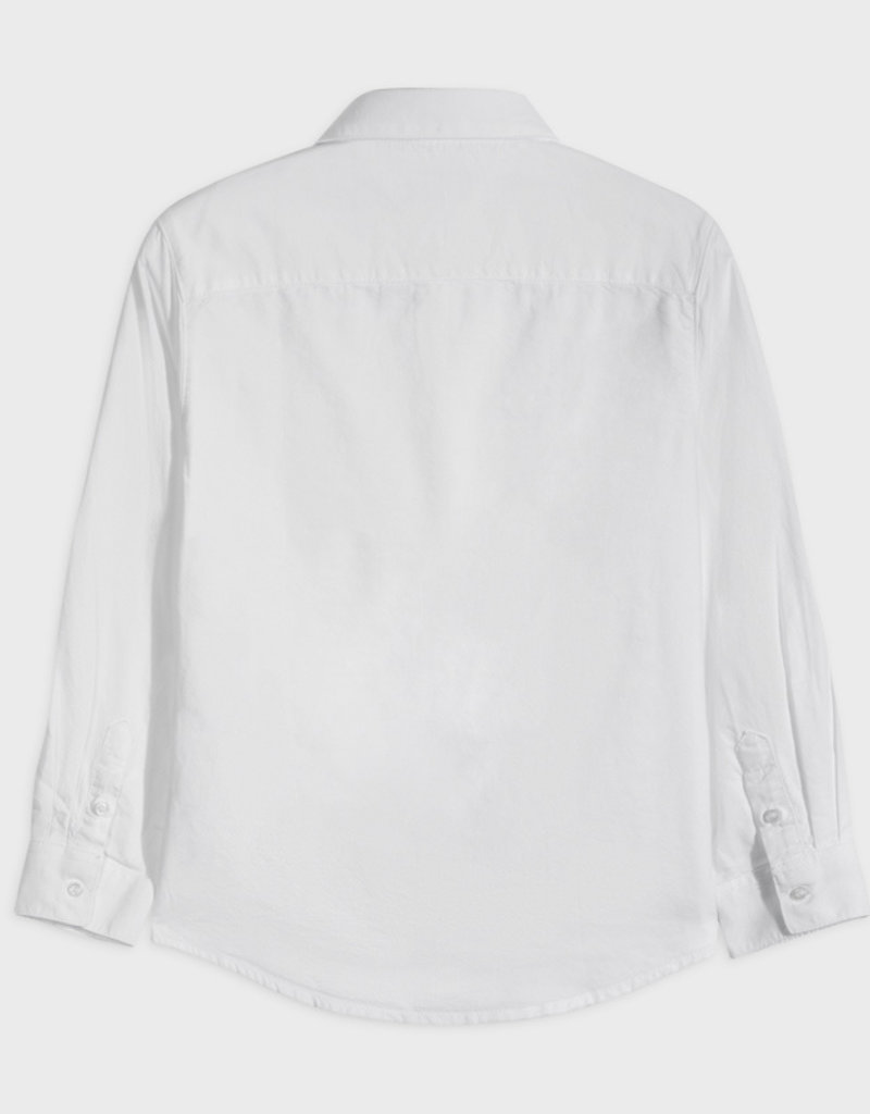 Mayoral L/S Oxford Shirt White 8, 10
