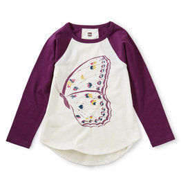Tea Collection Butterfly Raglan Graphic Tee 2T-12