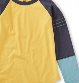 Tea Collection Explorer Colorblock Raglan Top Acacia 2T-12