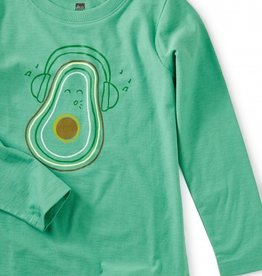 Tea Collection Marketplace Avocado Graphic Tee 2T-10