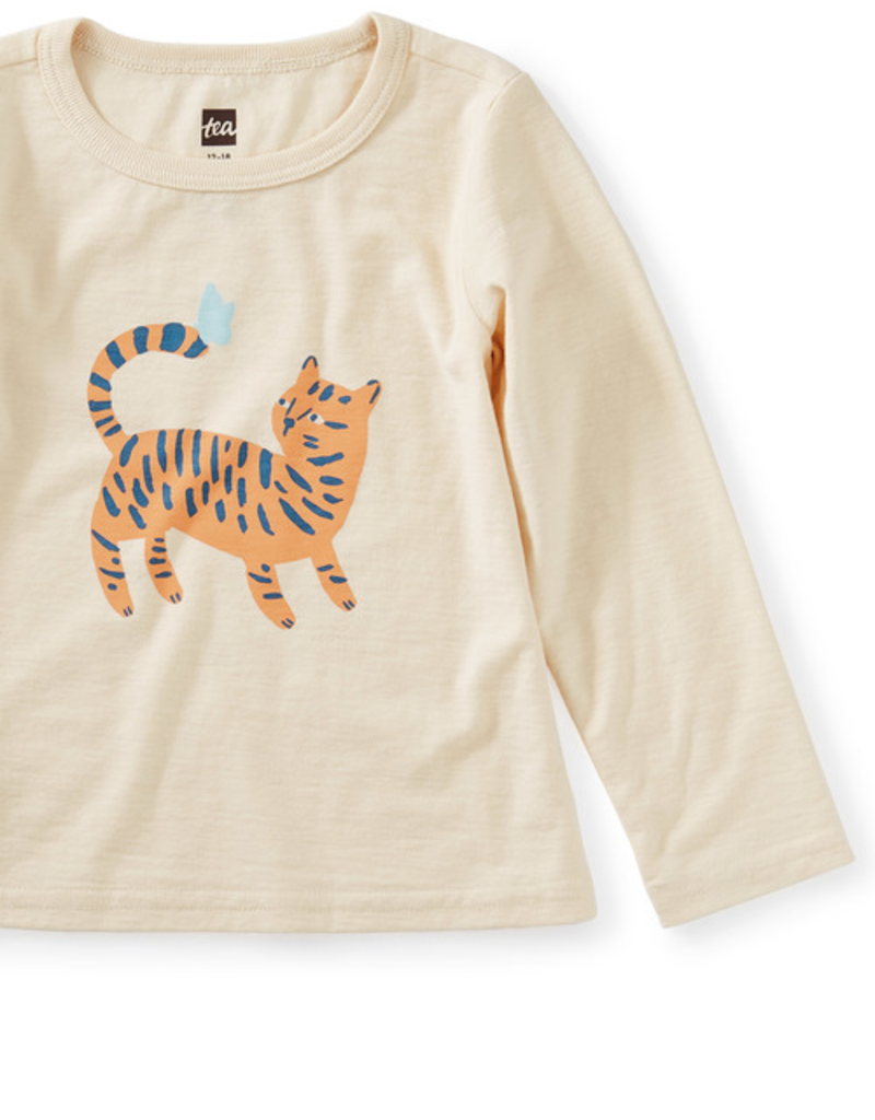 Tea Collection Tiger Time Graphic Tee
