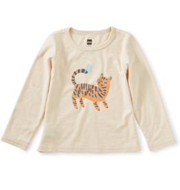 Tea Collection Tiger Time Graphic Tee  12/18M