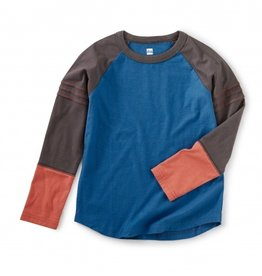 Tea Collection Explorer Colorblock Raglan Top 2T-12