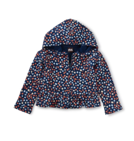 Tea Collection French Terry Hoodie Mountainside Wildflowers 3/6M-2T