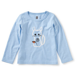 Tea Collection Chillin Chinchilla Graphic Tee 3/6M-4T