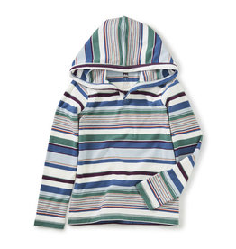 Tea Collection Striped Happy Hoodie 2T-14