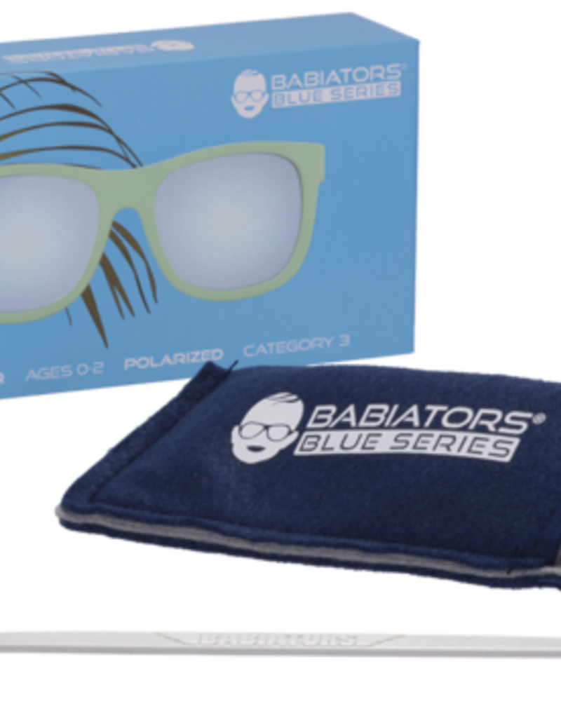 Babiators The Surfer Navigator Polarized Lt Blue Mirror Lens 0-2yr-6+yr