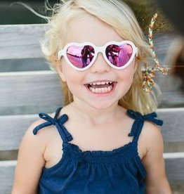 Babiators The Sweetheart Polarized Pink Mirror Lens 0/2yr-6+yr