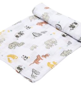 Angel Dear Endangered Species Muslin Swaddle