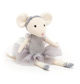 Jellycat Pirouette Mouse Pebble
