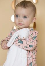 Angel Dear Blankie White Bunny