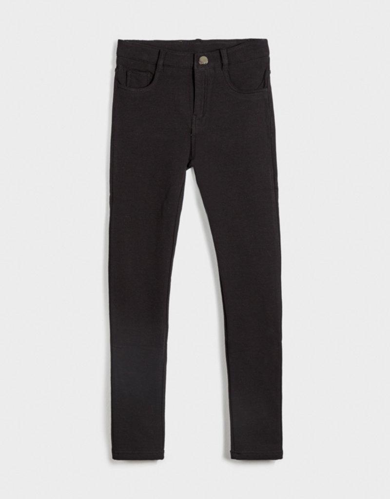 Mayoral Fleece Basic Pants Black 10-14