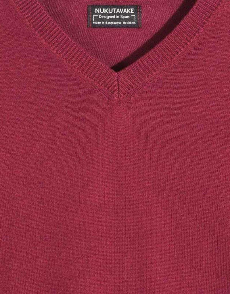 Mayoral Cotton Sweater Burgundy 8, 10