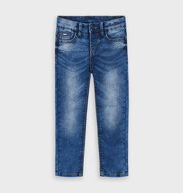 Mayoral Boys Slim Fit Denim Pants 2-9