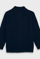 Mayoral Woven Knit Jacket Navy 2-8