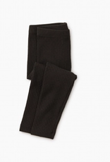 Tea Collection Pointelle Leggings Jet Black