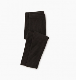 Tea Collection Pointelle Leggings Jet Black 2T-10