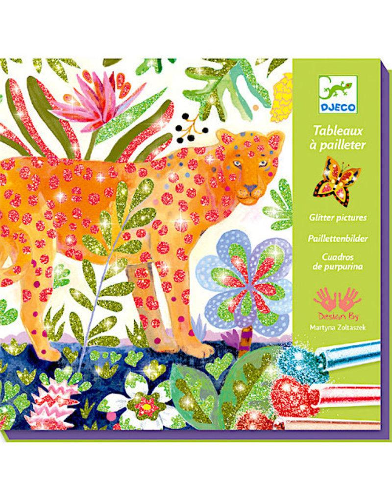 Djeco LGA Glitter Boards Tropico